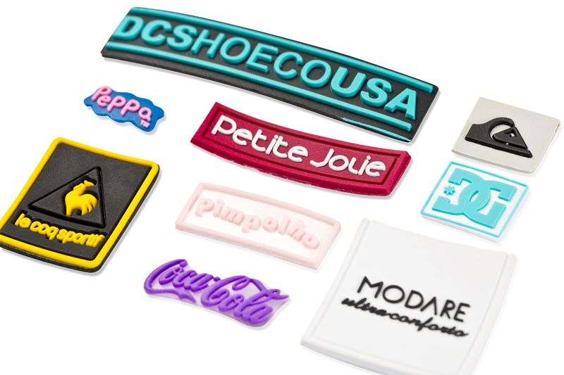 PLASTIFIED PVC TECHNICAL PART LABELS – COLORFUL LABEL