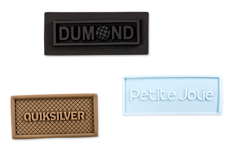 PLASTIFIED PVC TECHNICAL PART LABELS – 1 COLOR